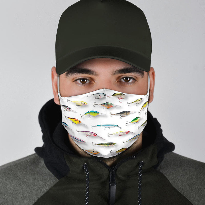 Fishing Lures | Face Mask - Monarch Graphics & Design