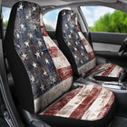 American Flag Car Seat Cover - Monarch Graphics & Design