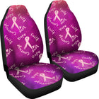 Hope, Faith, Love, Courage | Car Seat Cover - Monarch Graphics & Design