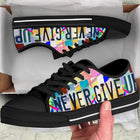 Cure All Cancers | Low Top Shoes - Monarch Graphics & Design