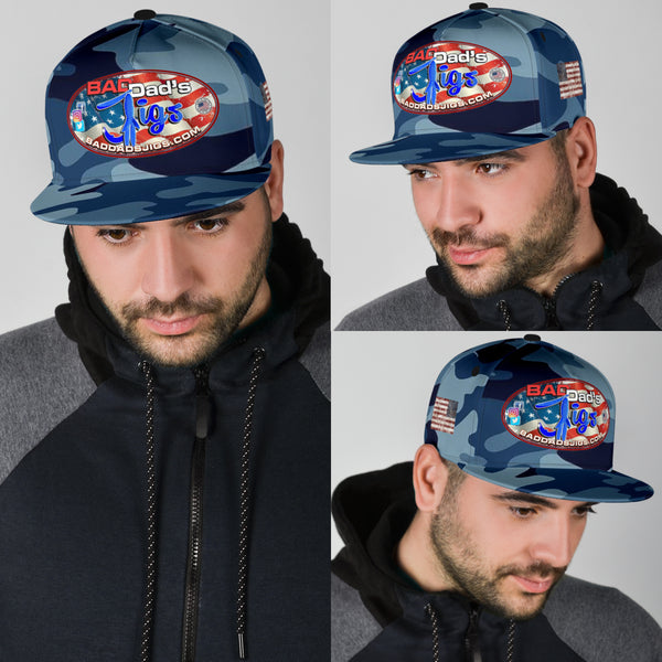Bad Dad's Jigs | Camo Snap Back