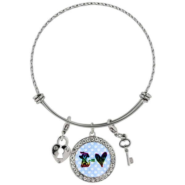 Dog = Love - Bracelet - Monarch Graphics & Design