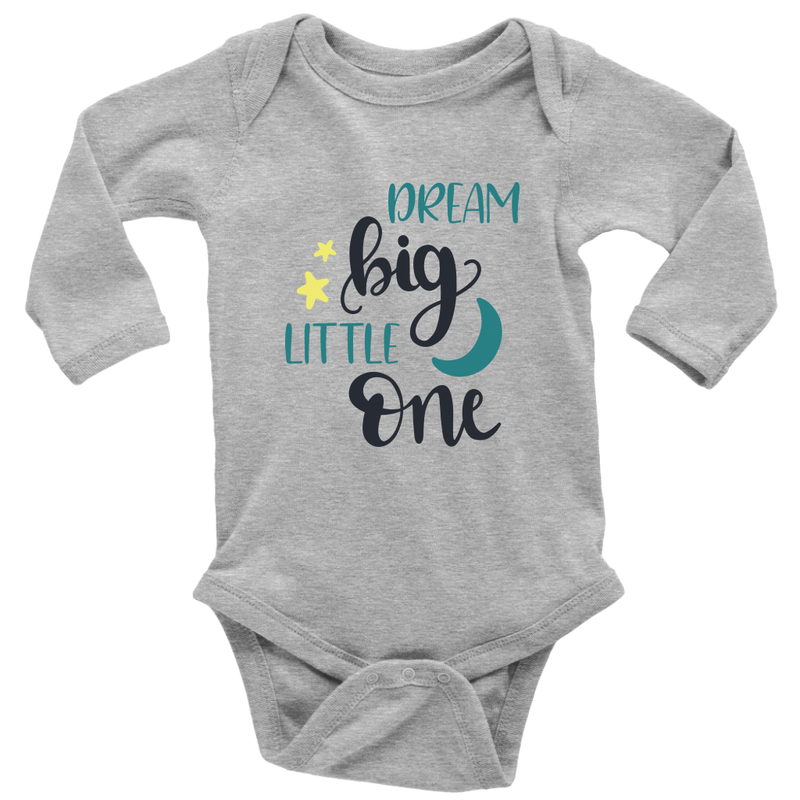 Dream Big Little One - Teal - Monarch Graphics & Design