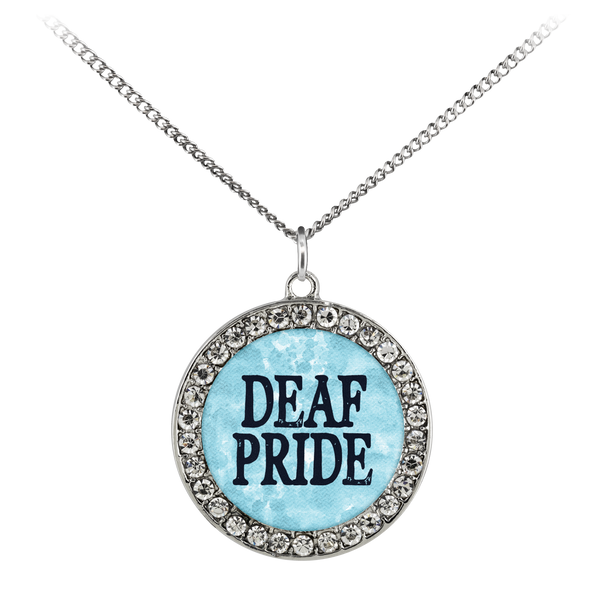 Deaf Pride - Necklace - Monarch Graphics & Design