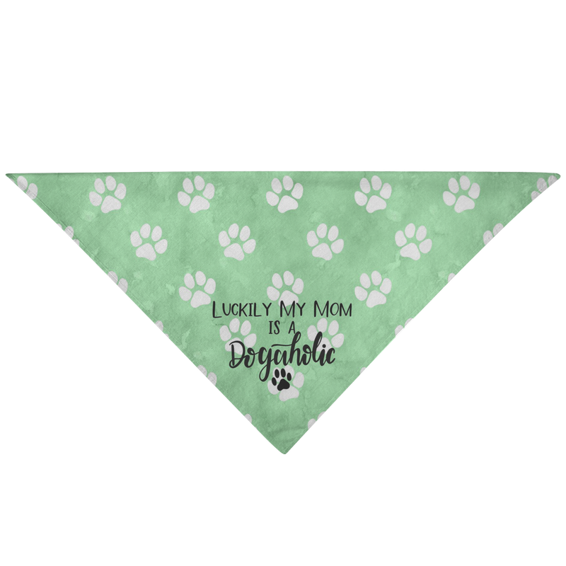 Dogaholic - Pet Bandana - Monarch Graphics & Design