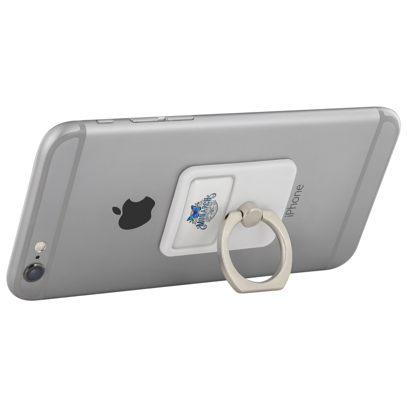Monarch Graphics & Design Logo - Cell Phone Kickstand - Monarch Graphics & Design