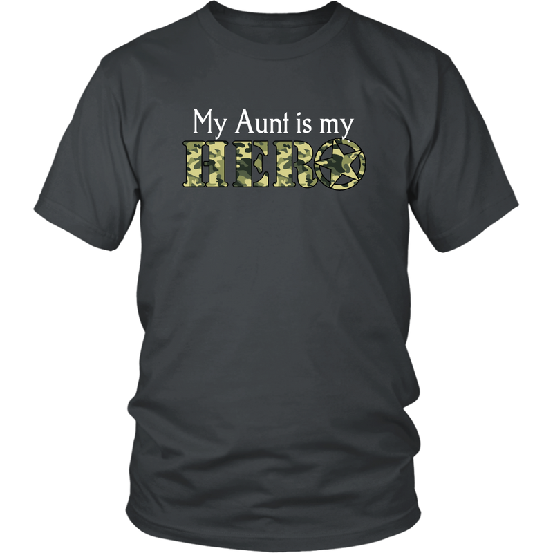 My Aunt Is My Hero - Monarch Graphics & Design