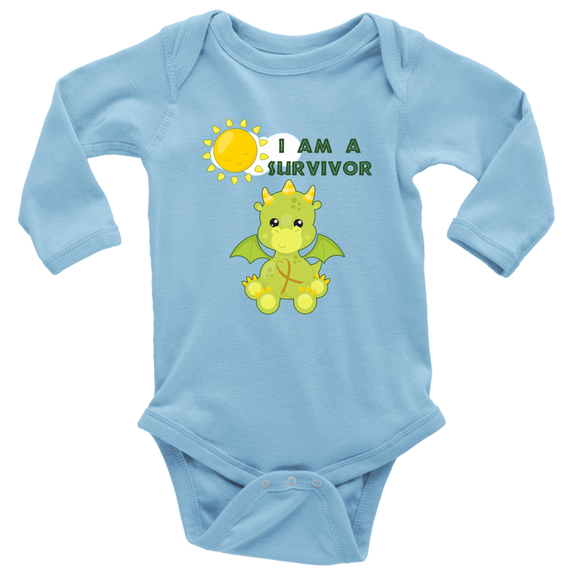 I Am A Survivor - Childhood Cancer - Monarch Graphics & Design