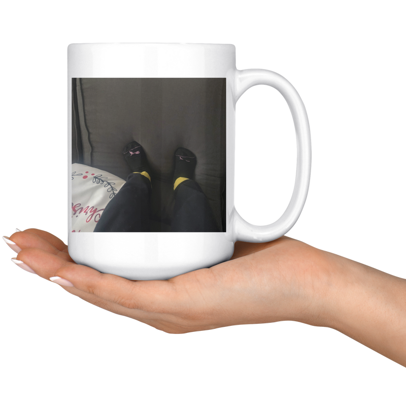 Relax | 15 oz Mug - Monarch Graphics & Design