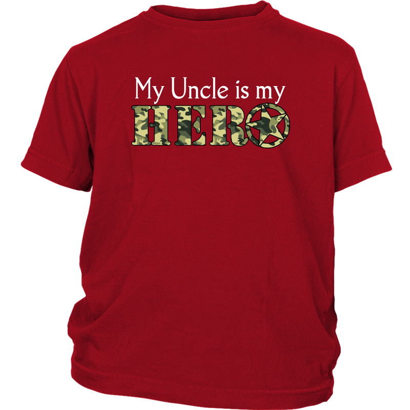 My Uncle is my Hero - Monarch Graphics & Design