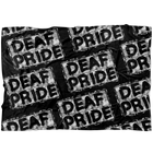Deaf Pride Grunge - Blanket - Monarch Graphics & Design