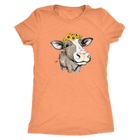 Cow with Sunflowers - Monarch Graphics & Design