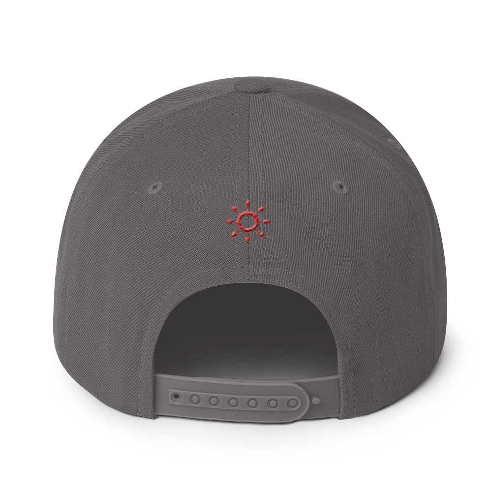Blood Red Khaotic Snapback