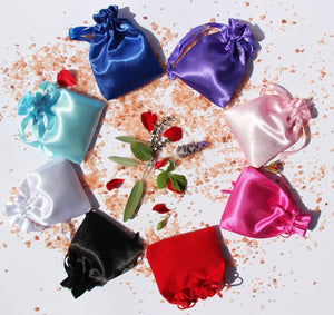 Satin Charmed Pouch colours
