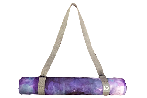 Charcoal Yoga Carry & Stretching Strap