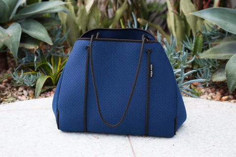 Deep Navy Fitness Tote
