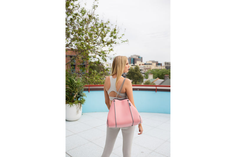 Blush Rose Fitness Tote