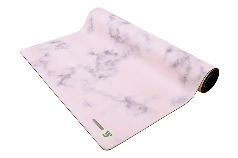 Yoga Mat: BLUSH MARBLE