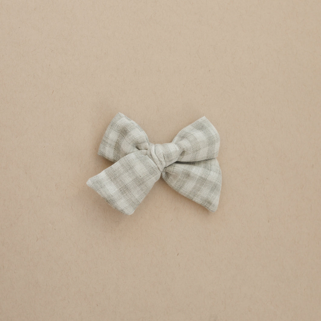 Gray Gingham | Belle