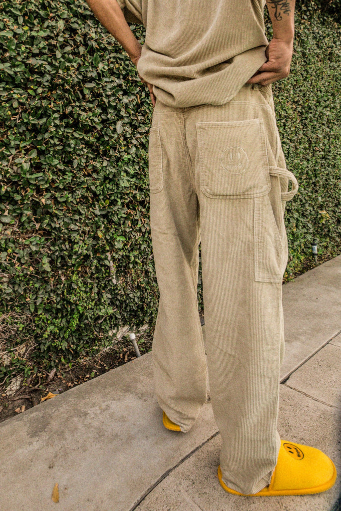 Corduroy Carpenter Pant - Khaki