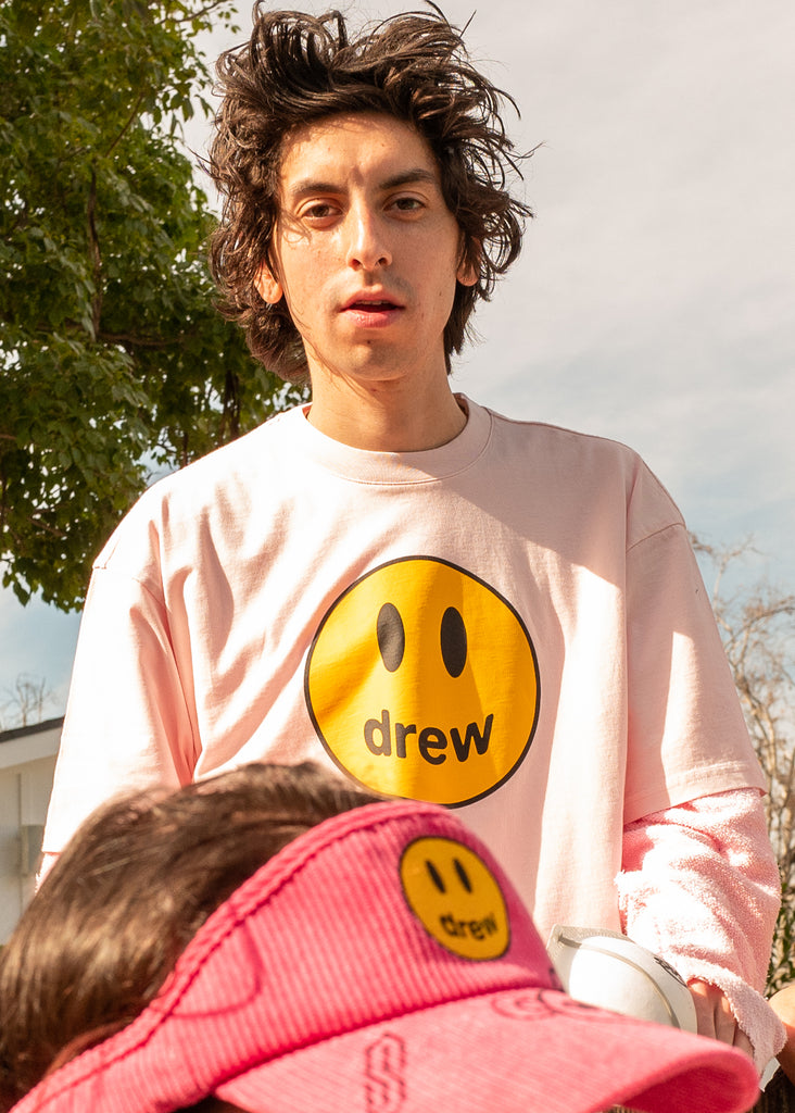 Mascot SS Tee - Pale Pink