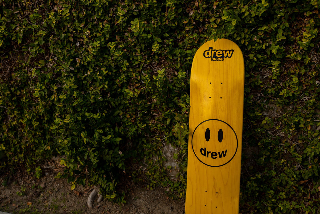 Mascot Skate Deck - Golden Yellow