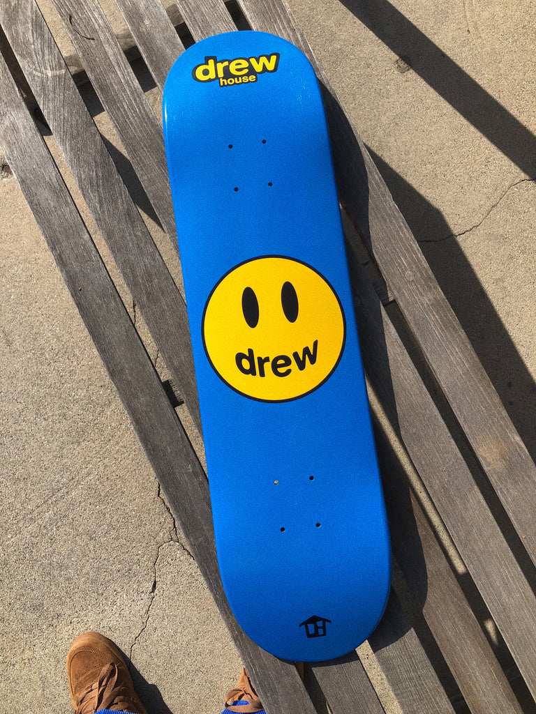 Mascot Skate Deck - Royal Blue
