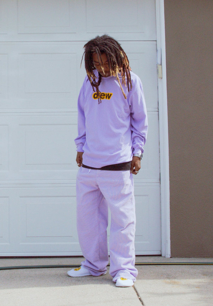 Secret LS Tee - Lavender