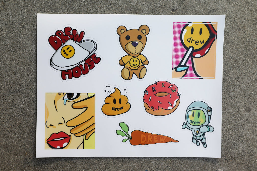 Drew Sticker Sheet 1 - OS