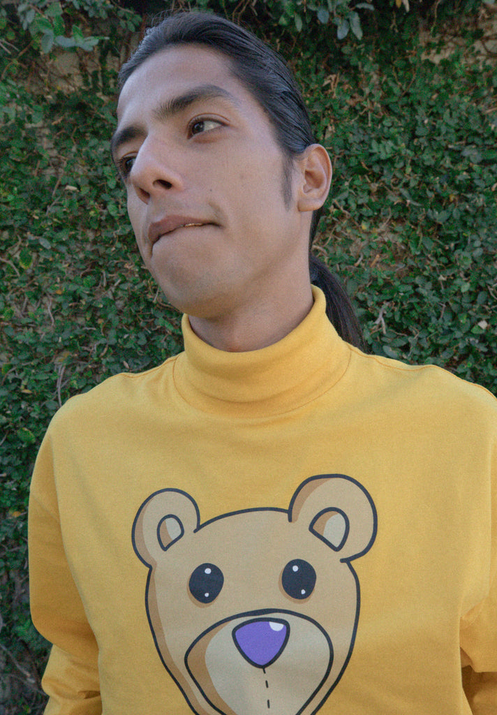 Teddy LS Turtleneck Tee - Golden Yellow