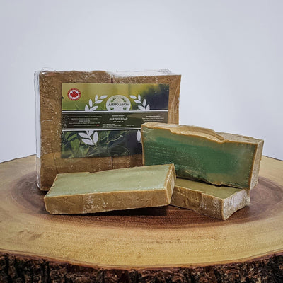 Aleppo Musk Soap 20% Laurel Oil - 3 PCS - Alepposavon