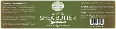 Whipped Shea Butter - Unscented 226ml