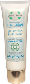 FOOT CREAM EUCALYPTUS PEPPERMINT 4.25oz/125ml - Alepposavon
