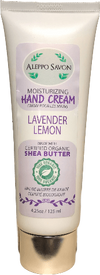 HAND CREAM LAVENDER LEMON 4.25oz/125ml - Alepposavon