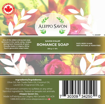 Romance Soap With Laurel Oil 1 Pc