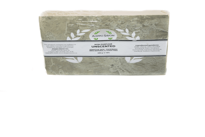 Aleppo Soap Unscented 2PCS - Alepposavon