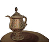Artisan Painted Kettle Home Decor