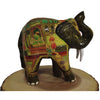 Hand Painted Home Decor - Large Elephant