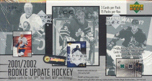 2001/02 Upper Deck Rookie Update Series Hockey Hobby - Pastime Sports & Games