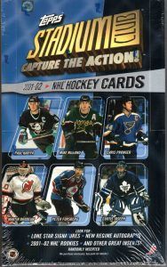 2001/02 Topps Stadium Hockey Hobby - Pastime Sports & Games