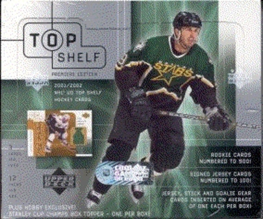 2001/12 Upper Deck Top Shelf Hockey Hobby Box - Pastime Sports & Games