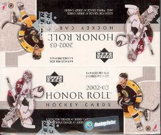 2002/03 Upper Deck Honor Roll Hockey Box - Pastime Sports & Games