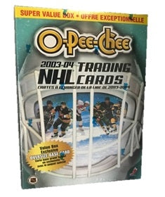 2003/04 O-Pee-Chee Hockey Blaster/Value Box - Pastime Sports & Games