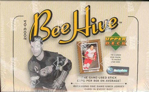 2003/04 Upper Deck Beehive Hockey Hobby Box - Pastime Sports & Games