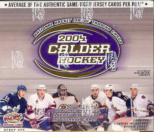 2003/04 Pacific Calder Hockey Hobby Box - Pastime Sports & Games