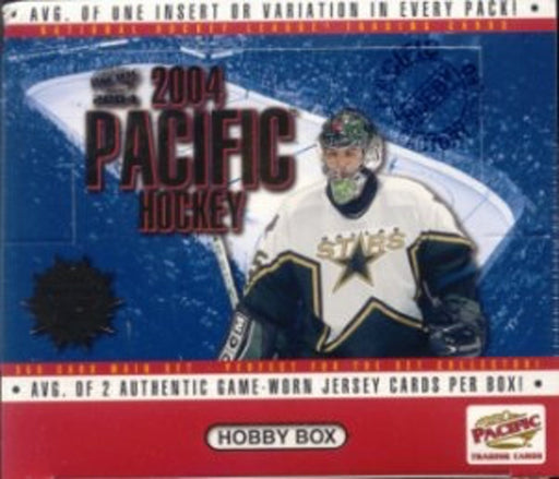 2003/04 Pacific Hockey Hobby Box - Pastime Sports & Games