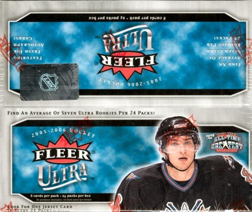 2005/06 Fleer Ultra Hockey 24 pack Box - Pastime Sports & Games