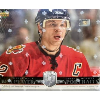 2006/07 Upper Deck Be A Player Portraits Hockey Hobby - Pastime Sports & Games
