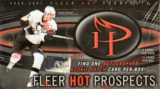 2006/07 Upper Deck Hot Prospects Hockey Hobby - Pastime Sports & Games