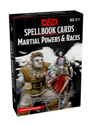 D&D Spellbook Cards Martial Powers and Races 2nd Edition - Pastime Sports & Games